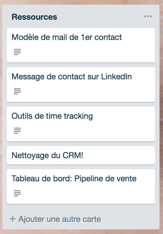 ressources CRM